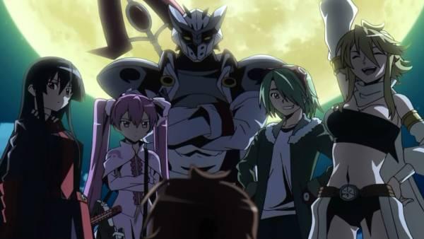 Akame ga Kill - Melhores Animes de Ação