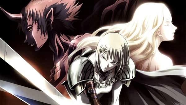Claymore - Melhores Animes de Ação