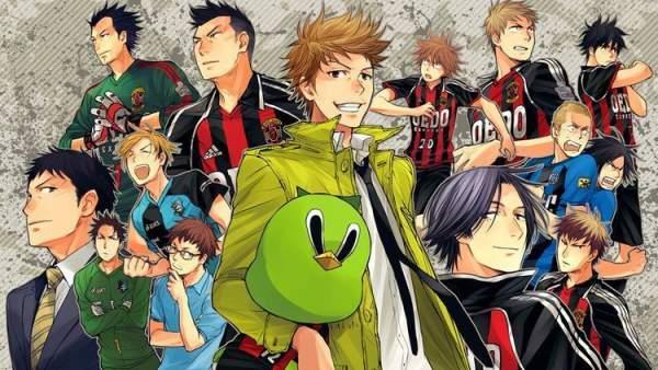 Giant Killing - Melhores Animes de Futebol