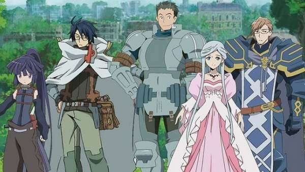 Log Horizon - Animes de Rpg