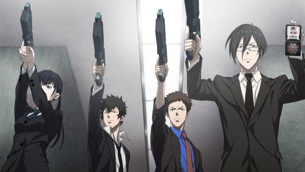 Psycho-Pass - Melhores Animes de Detetive