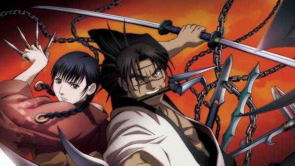 Blade of the Immortal- Melhores Animes de Samurais