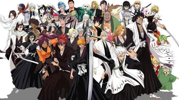 Bleach - Melhores Animes de Luta