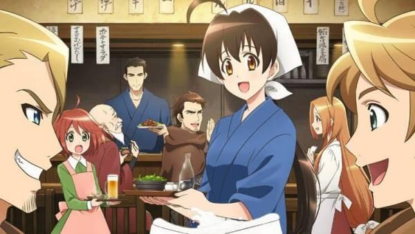 Isekai Izakaya - Melhores Animes de Culinária