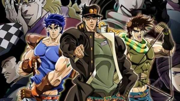 JoJo's Bizarre Adventure - Melhores Animes de Luta