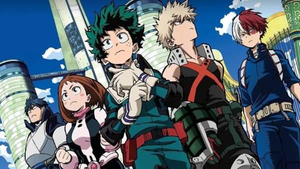 My Hero Academia - Melhores Animes de Luta