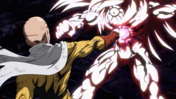 One Punch Man - Melhores Animes de Luta