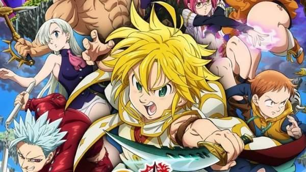 Nanatsu no Taizai - Melhores Animes de Luta