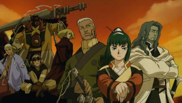 Samurai 7- Melhores Animes de Samurai
