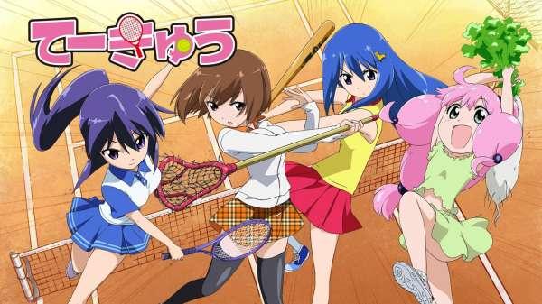Teekyu Melhores Animes de Tênis