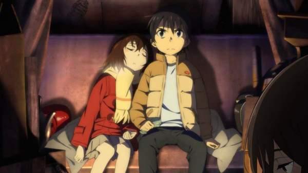 ERASED - Melhores Animes de Mistério