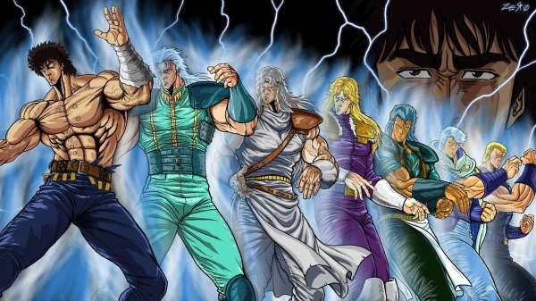 Fist of the North Star - Melhores animes de artes marciais