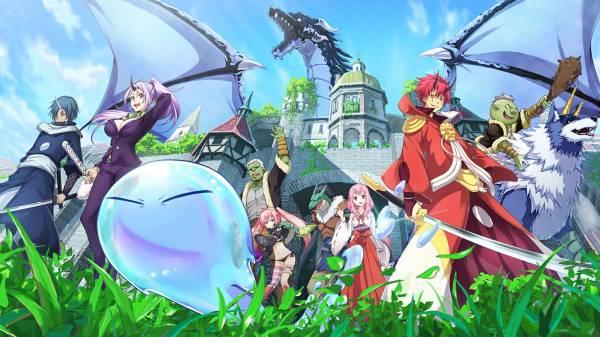 That Time I Got Reincarnated as a Slime - Melhores Animes de Magia