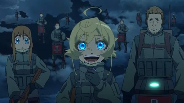 Youjo Senki - Melhores Animes de Guerra