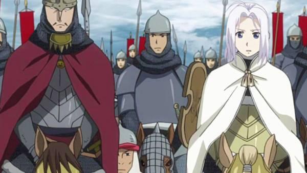 Arslan Senki - Melhores Animes Medievais