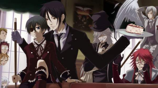Black Butler - Melhores Animes de Demônios