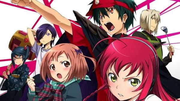 Hataraku Maou-sama! - Melhores Animes de Demônios