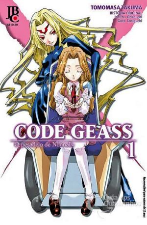 Code Geass Mangá