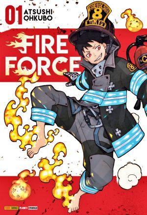 Fire Force Mangá
