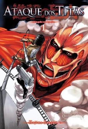 Shingeki no Kyojin Mangá Ataque dos Titãs