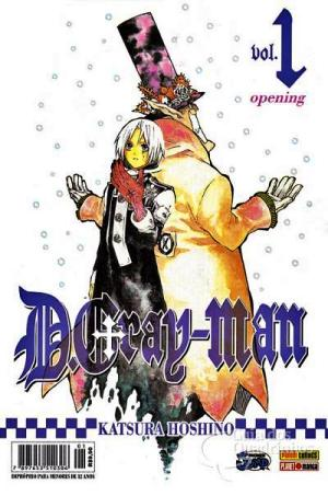 D Gray Man Mangá