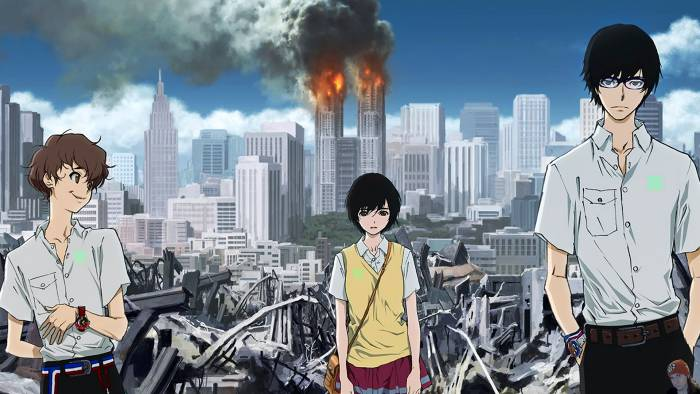 Zankyou-no-Terror-Melhores-animes-de-suspense-psicológico